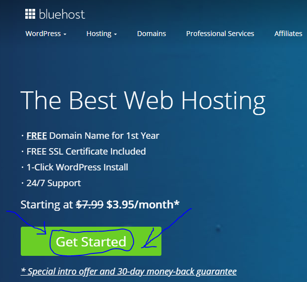 How to start a WordPress blog with Bluehost in 2020